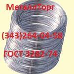 Проволока стальная вязальная  ГОСТ 3282-74  .