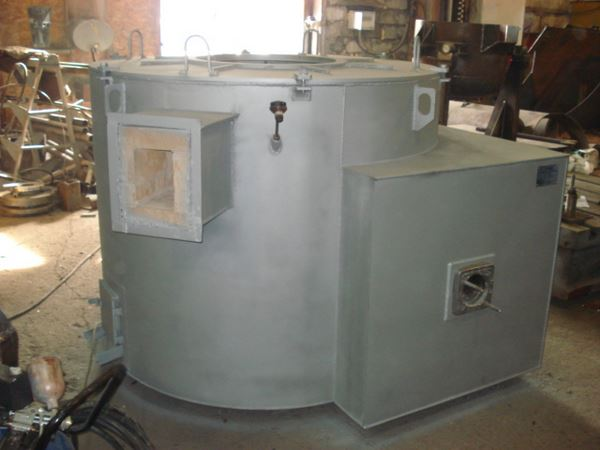 Печь тигельная пламенная ПТ-0,25
