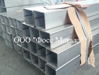 Трубы нержавеющие квадратные матовые сталь  AISI 316L -...