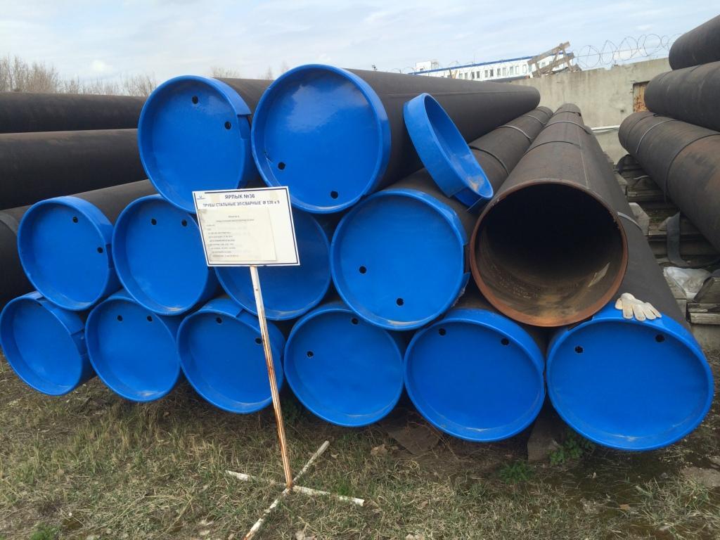 Труба 530х9 стальная электросварная прямошовная  К52/1 17Г1С-У ВМЗ ТУ1381-051-05757848-2011 (13 шт) 530