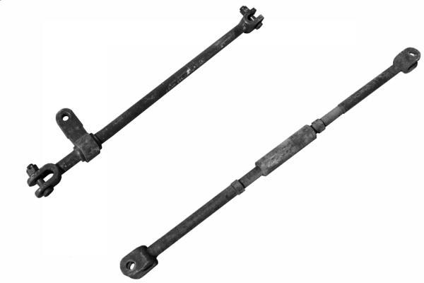 Тяги СП 131, СП54 стрелочного перевода на складе ТП 24