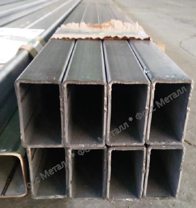 Трубы нержавеющие матовые профильные AISI 304 50х50х3  ...