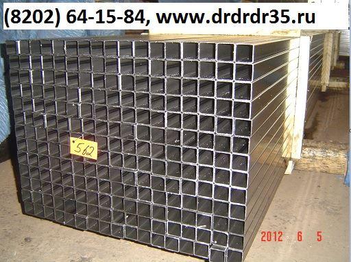 Труба 25 25  стенки 0,7-1,5 мм х/к и оцинкованная