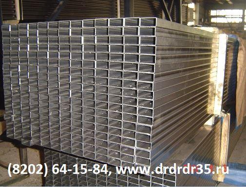 Труба 40 20  стенки 0,7-1,5 мм х/к и оцинкованная